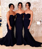 Mermaid Bridesmaid Dresses, Bridesmaid Dress, Wedding Party Dress, Dresses For Wedding, NB0038