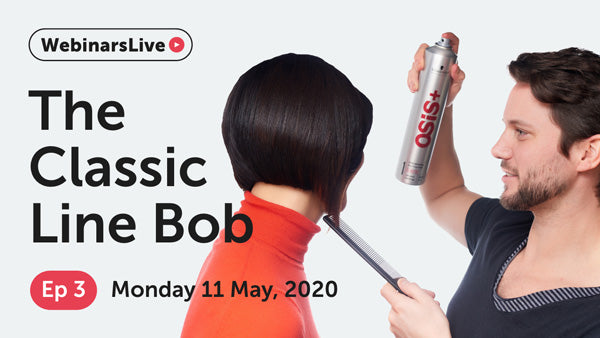 Watch our FREE webinar for graudates and assistants | Episode 3 - The Classic Line Bob