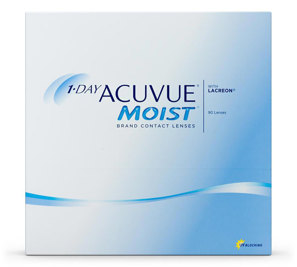 1-Day Acuvue Moist 90 Pack