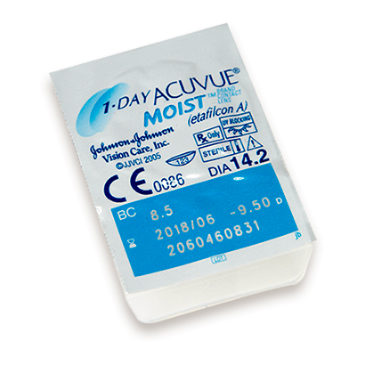 1-Day Acuvue Moist 30 Pack power