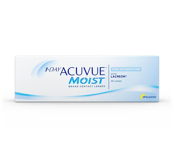 1-Day Acuvue Moist For Astigmatism/Toric 30 Pack