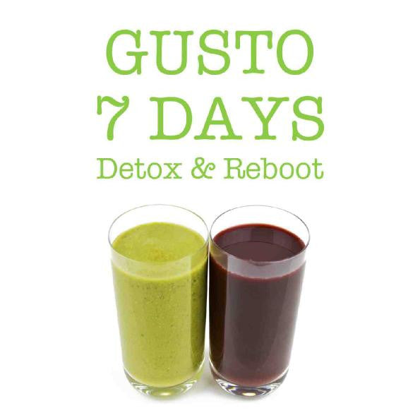 7 DAYS Detox & Reboot eBook - FREE