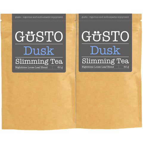 GUSTO Slimming Tea - Twin Pack - 2 x Dusk