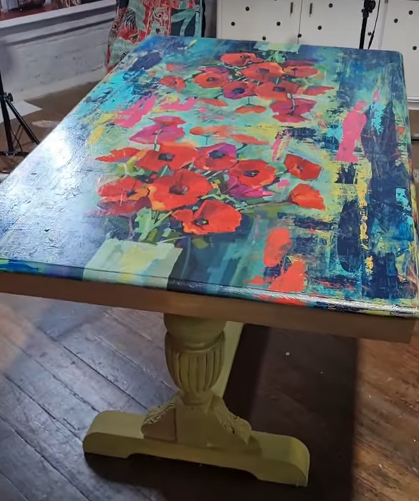 Super Quick Table Upcycle