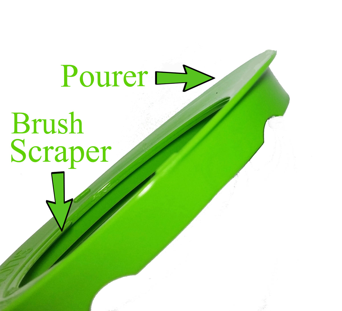 Slica - Brush Scraper and Pourer