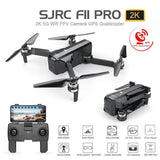 Drone SJRC F11 PRO GPS Drone Com Camera HD Profissional Wifi FPV 1080P 2K Motores Brushless 28 minutos