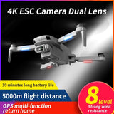 Drone F808 Pro Gps Camera 4k Wifi5g 2km 30Minutos Motores Brusheless