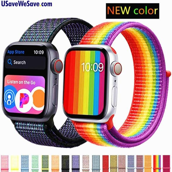 Apple Watch Sports Loop Strap Band - 38mm 40mm 42mm 40mm