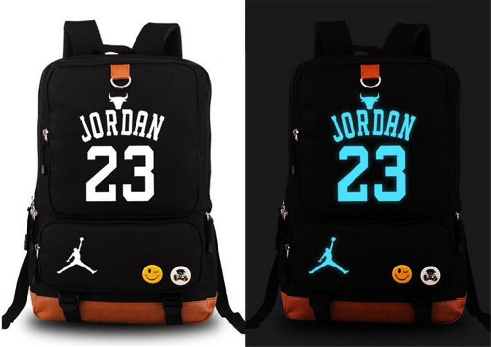 Glow in the Dark - NBA Player Backpack - Jordan Westbrook Wade Iverson Anthony Paul