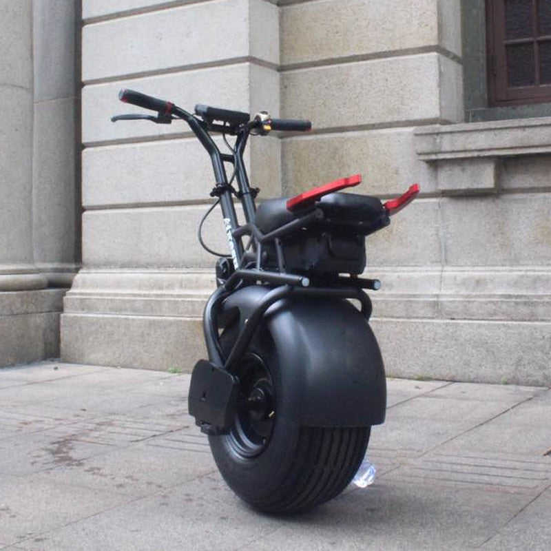 New Model / Big One Wheel / Powerful 1000w Electric Smart Scooter - 18inch Balance Electric Moped