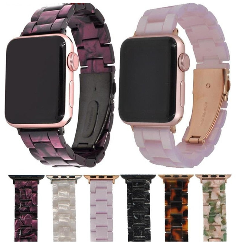 Imitation Ceramic Strap Band for Apple Watch Series 3/2/1 - 42mm/38mm