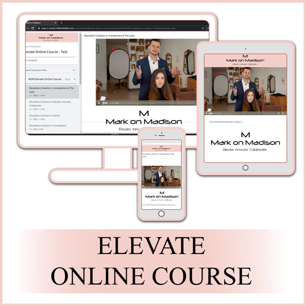 Elevate Online Course 2020