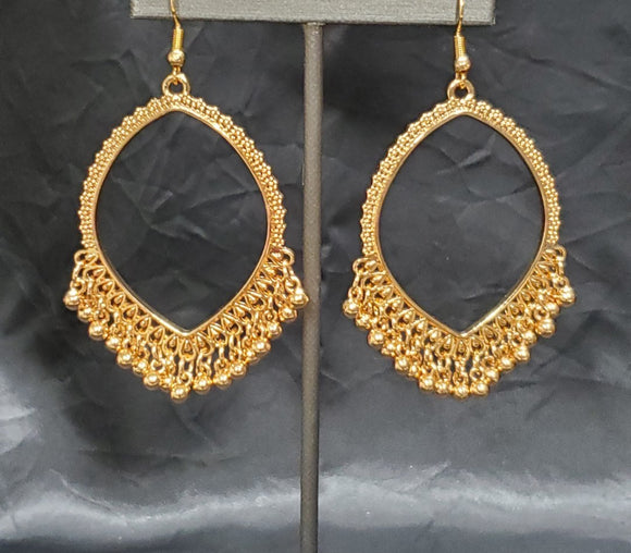 Heirloom Harmony Gold Earrings - Bejeweled Accessories By Kristie Featuring Paparazzi Jewelry  -  The Paparazzi Heirloom Harmony Gold is the product you didn't think you need, but once you have it, something you won't want to live without.  Paparazzi Accessories are Lead and Nickel Free.