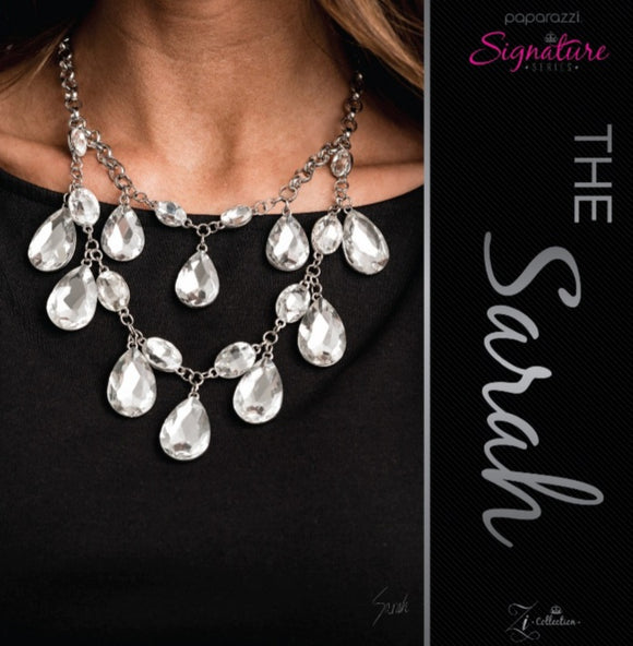 The Sarah - Zi Necklace & Earrings - Paparazzi Accessories