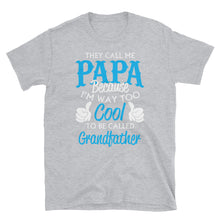 Load image into Gallery viewer, They Call Me Papa Funny Short-Sleeve Men's T-Shirt