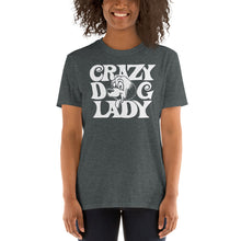 Load image into Gallery viewer, Crazy Dog Lady Funny Women's T-Shirt