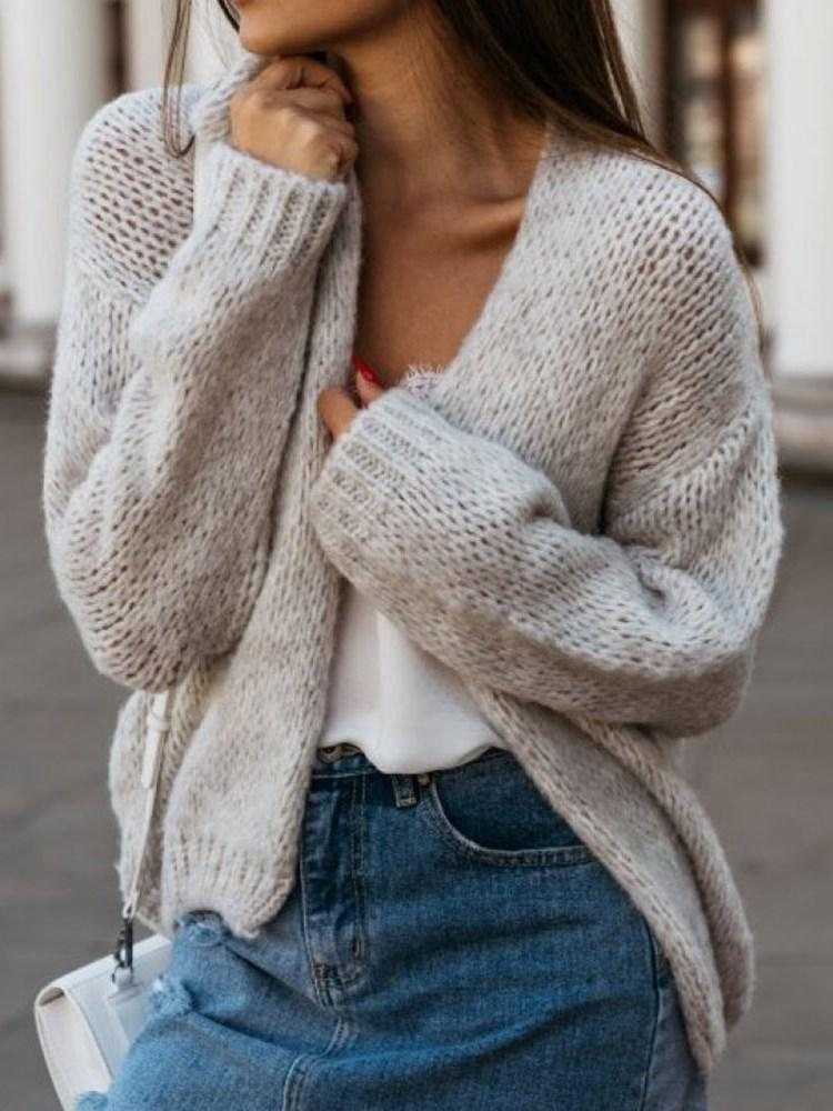 Loose Mid-Length Sweater