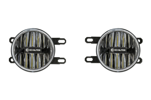 KC HiLiTES 12-18 Toyota Tacoma Gravity G4 LED Light Amber Fog Beam (Pair Pack System)