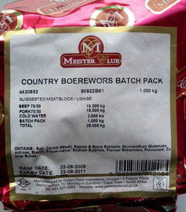 Crown Meister Club Country Boerewors Spice
