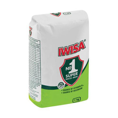 Iwisa No 1 Super Maize Meal - 1kg