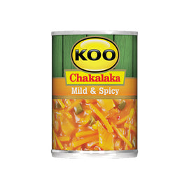 Koo Mild and Spicy Chakalaka