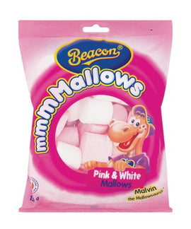 Beacon Pink and White Mallows 150g