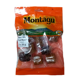 Montagu Mixed Mini Fruit Rolls 400g