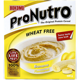 ProNutro Wheat Free Banana 500g