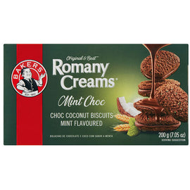 Bakers Romany Creams Mint Choc 200g
