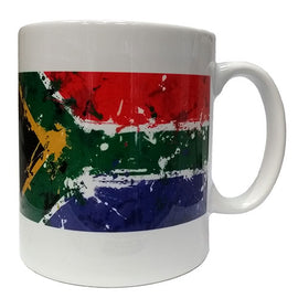 South African Flag Retro Sweet Mug