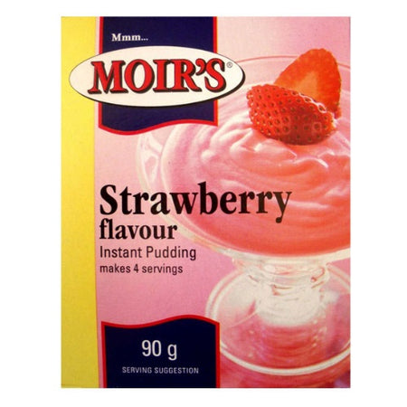 Moirs Instant Pudding - Strawberry