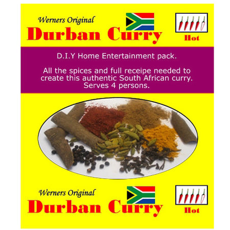 Werners Durban Curry - Hot