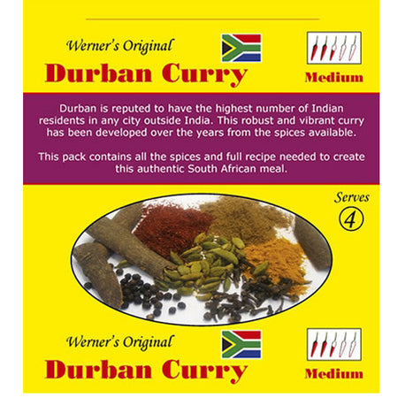 Werners Durban Curry - Medium
