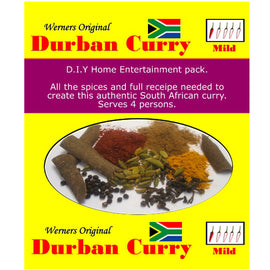 Werners Durban Curry - Mild