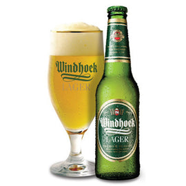 Windhoek Lager (bottle) - 330ml 6-pack