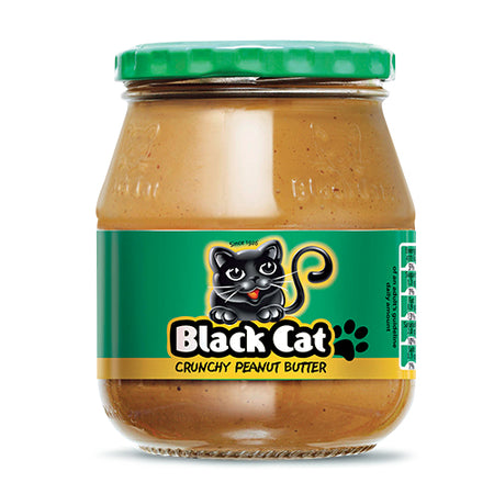 Black Cat Peanut Butter Crunchy - 400g