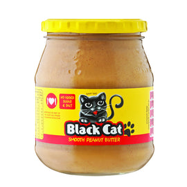 Black Cat Peanut Butter Smooth No Added Salt and Sugar