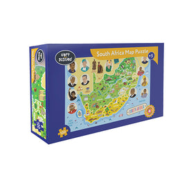 South Africa Map Jigsaw Puzzle