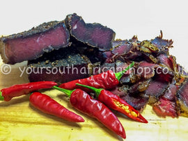 Charlic (chilli & garlic) Beef Biltong