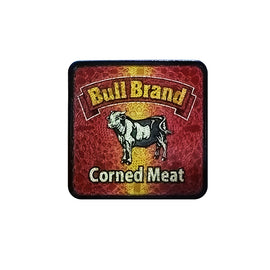 South African Bull Brand Corned Meat Retro Coaster
