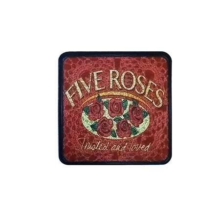 South African Five Roses Tea Retro Coaster