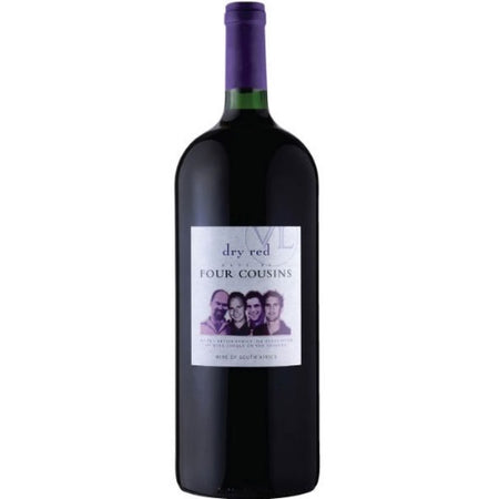 Four Cousins Dry Red Magnum