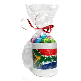 South African Flag Easter Mug
