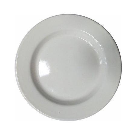 Enamel 24cm Dinner Plate Off White