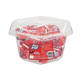 Beacon Fizz Pops Cherry - box of 40