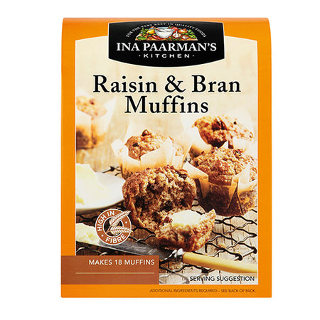 Ina Paarman's Raisin & Bran Muffin Mix