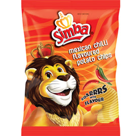 Simba Mexican Chilli Chips - 125g
