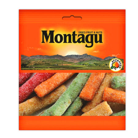 Montagu Mixed Dried Fruit Lollies 250g