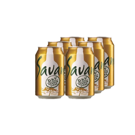 Savanna Dry 330ml Cans 6 Pack
