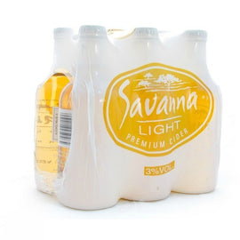 Savanna Light 330ml 6-Pack
